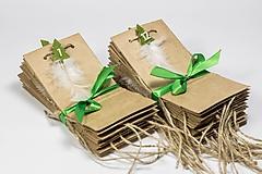 Papiernictvo - Vreckový adventný kalendár II - 10015624_