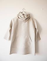 Detské oblečenie - Limitovka - ľanové dievčenské šaty - 10019250_