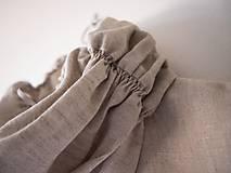 Detské oblečenie - Limitovka - ľanové dievčenské šaty - 10019254_