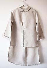 Limitovka - dámska košeľová atypická tunika