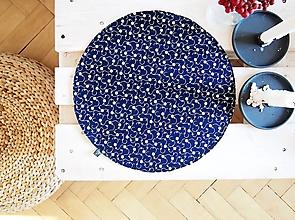 Úžitkový textil - Prestieranie/obrus - modrotlač-I - 10017544_