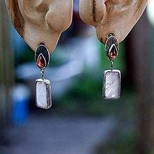 Náušnice - Náušnice zo striebra - Sviečky - 10019930_