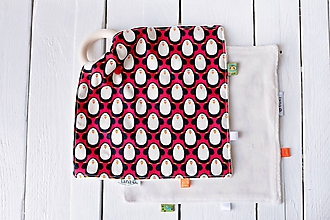 Hračky - Žužláčik - tučniaci  (Tučniaci červení) - 10017409_