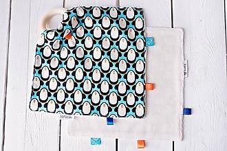 Hračky - Žužláčik - tučniaci  (Tučniaci modrí) - 10017411_