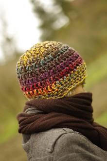 Čiapky - farebnica farebná jesenná:) čiapka akurátka - 10017423_