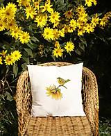 Úžitkový textil - Maľovaná návliečka