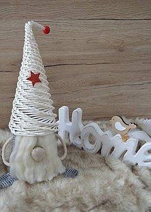 Dekorácie - Vianočný škriatok - 10018351_