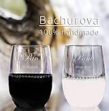 Šaty - Svadobné poháre pre Faberka - 10019546_