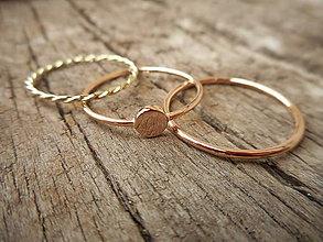 Prstene - Prstienky na objednávku - 10018345_