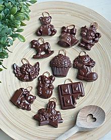 Dekorácie - Čokoládová kolekcia bez kalórií - 10019836_