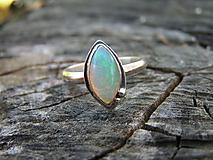 - Strieborny prsteň Ag 925 Etiopsky Opál - 10016996_