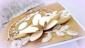 Papiernictvo - Zlatý okamih narodenín! - 10017053_