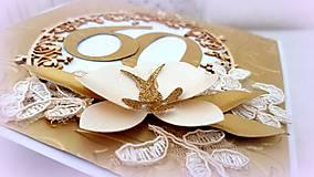 Papiernictvo - Zlatý okamih narodenín! - 10017054_