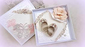 Papiernictvo - Črievičky pre malú princeznú - 10017072_