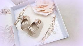 Papiernictvo - Črievičky pre malú princeznú - 10017073_