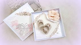 Papiernictvo - Črievičky pre malú princeznú - 10017074_