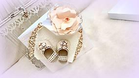 Papiernictvo - Črievičky pre malú princeznú - 10017075_
