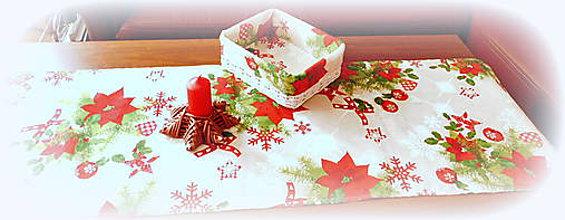 Košíky - Košík vianočný - 10017600_