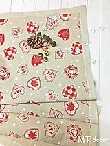 Úžitkový textil - OBRUS, ŠTÓLA, uni  - využiteľný celoročne - 10019065_