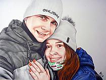 Kresby - Pastelkový portrét - na objednávku II. - 10018422_