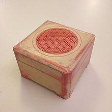 Krabičky - Vyrezávaná šperkovnica - 10022575_