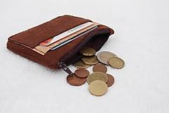 - Korková peňaženka unisex - 10024346_
