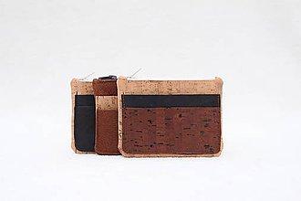 Tašky - Korková peňaženka - 10024387_