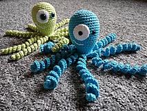 Hračky - Háčkovaná chobotnička - 10021321_
