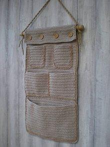 Úžitkový textil - Vreckár - 10022607_