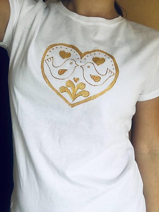 78d9a8bb33df Folk tričko   Sedlovicka - SAShE.sk - Handmade Tričká