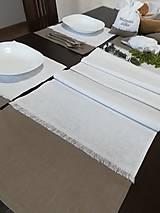 Úžitkový textil - Ľanové vrecúška na bylinky, huby, sušené ovocie..... - 10021356_