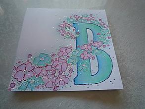 """Obrázky - Iniciála """"B"""" - 10022775_"""