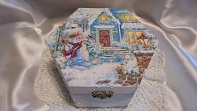 Krabičky - Krabicka modrá - 10023646_