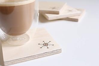 Pomôcky - Drevené podšálky/podložky