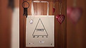 Iné tašky - ♥ Plátená, ručne maľovaná taška ♥ - 10024143_