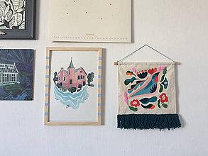 Úžitkový textil - Nástenný koberček 3 - 10022869_