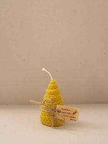 Svietidlá a sviečky - Točená sviečka stromček - 10024698_