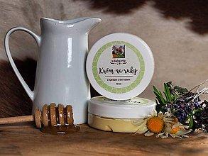 Drogéria - Krém na ruky s bylinkami a raw medom - 10024724_