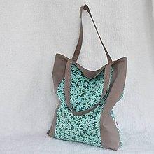Nákupné tašky - Nákupní taška - Flora - 10024392_