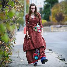 Šaty - Origo šaty Nr domček - 10020603_