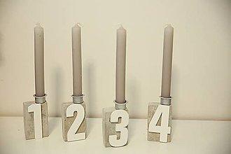 Dekorácie - vianočná dekorácia na stôl - 10020715_