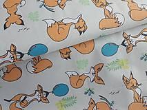 Textil - látka líšky - 10021279_