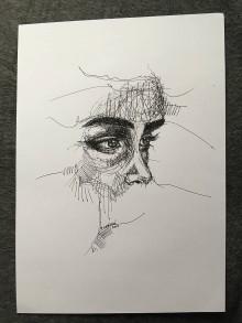 Kresby - Pohľad - 10025569_