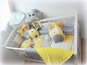 Textil - Sada bez aplikácií s hŕbou doplnkových vankúšov - 10026422_