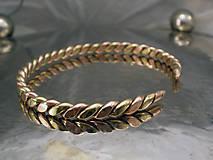 Šperky - viking spike - náramok - 10026846_