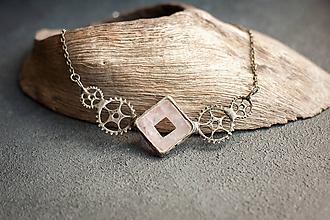 Náhrdelníky - náhrdelník COG - 10026808_