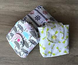 Detské doplnky - Mini taštička na plienky, plienkovník - 10026579_