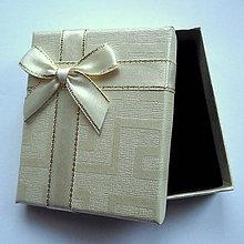Obalový materiál - Krabička 8x7x2,6cm - 10028172_