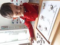 Hračky - Kreatívne písmenká ABECEDA – tvorenie prvých slov - 10025857_
