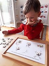 Hračky - Kreatívne písmenká ABECEDA – tvorenie prvých slov - 10025858_